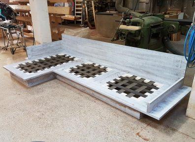 Produktion Sofa
