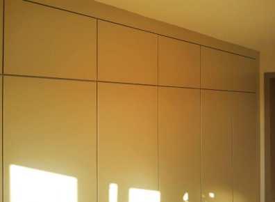 Wardrobe MDF lacquered