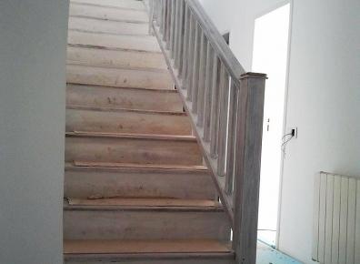 Treppenstufen Austausch