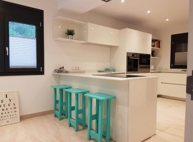 Kitchen MDF lacquered