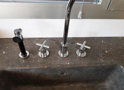 Küche Waschbecken Marmor