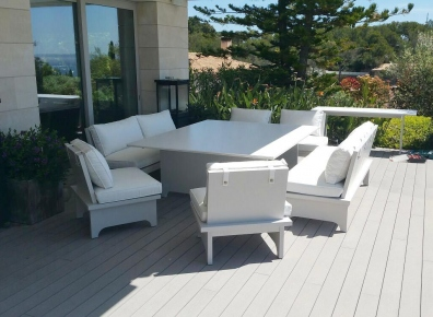Seating group spruce grey
