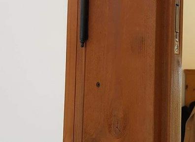 Door spruce antique