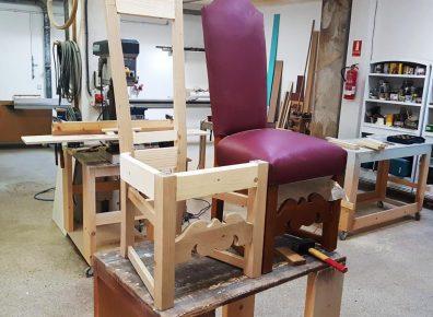 Chair antique oak